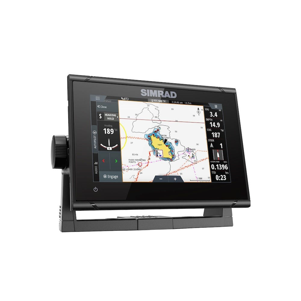 Simrad GO7 XSR with TotalScan transducer - GM Electronics