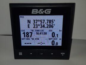b&g triton 2 display