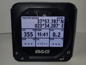 b&g triton display